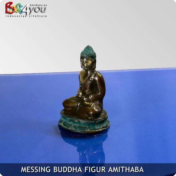 Messing Buddha Figur Amithaba