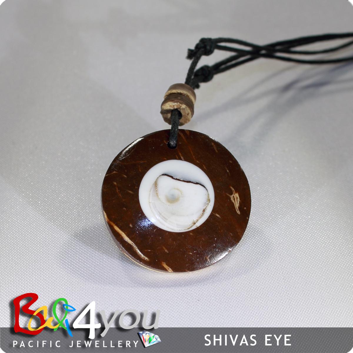Bali Style Halskette Shiva's Eyes