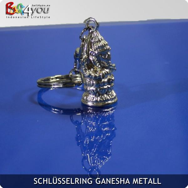 Metall Ganesha Keyholder Schlüsselanhänger