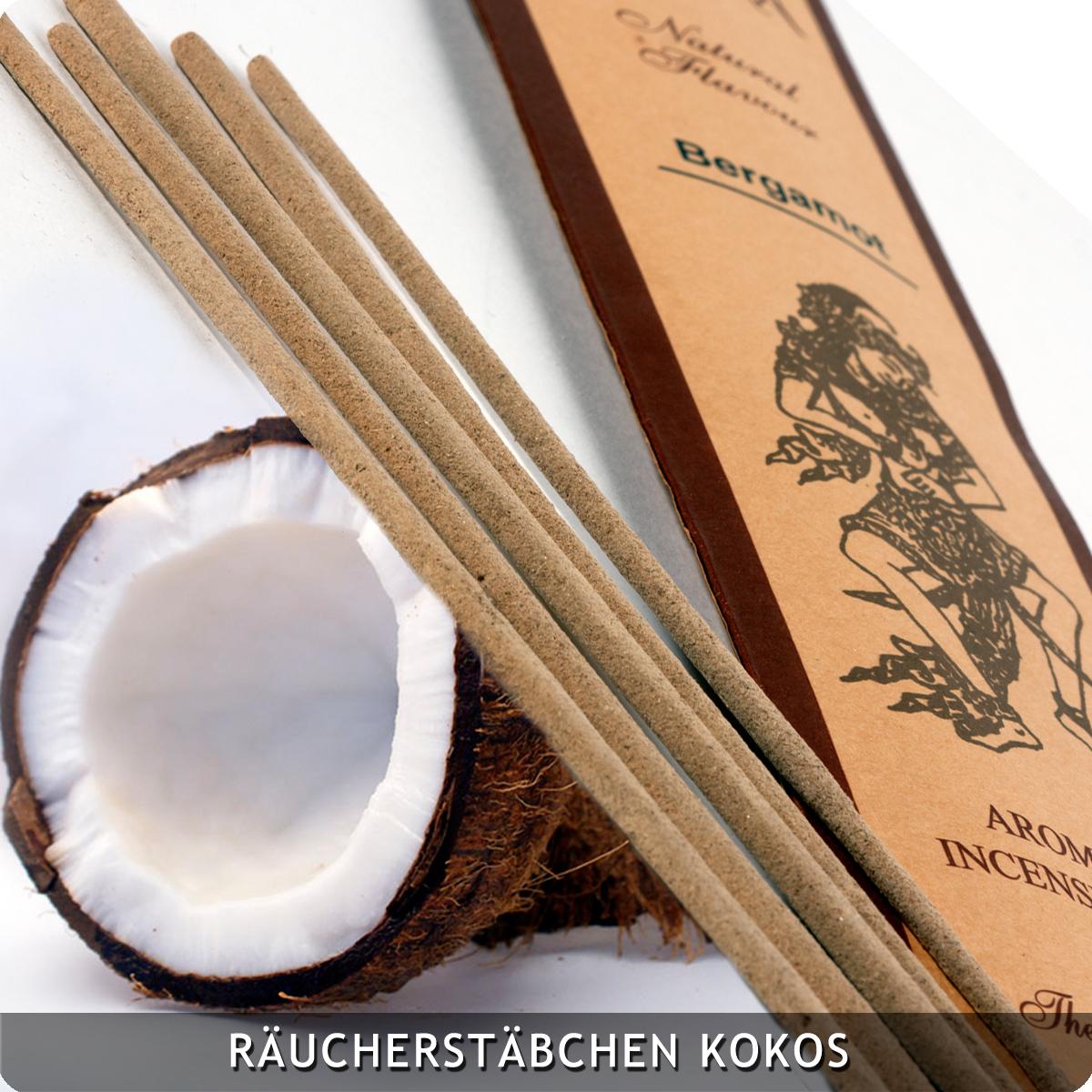 20 Räucherstäbchen Kokos