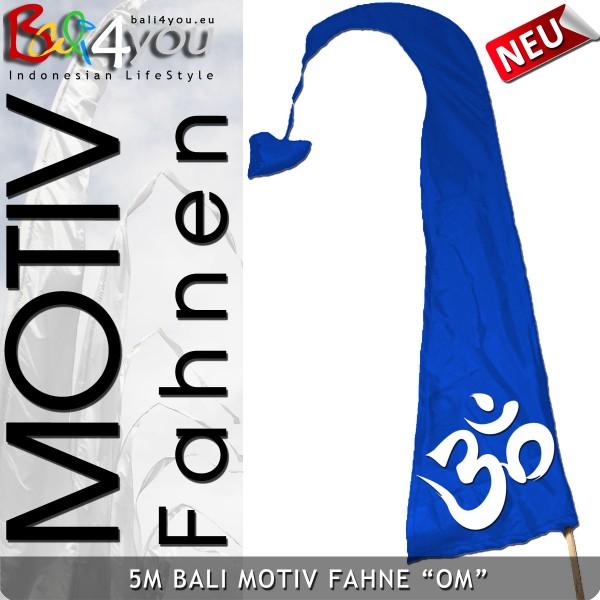 5m Bali Motiv Fahne - Om