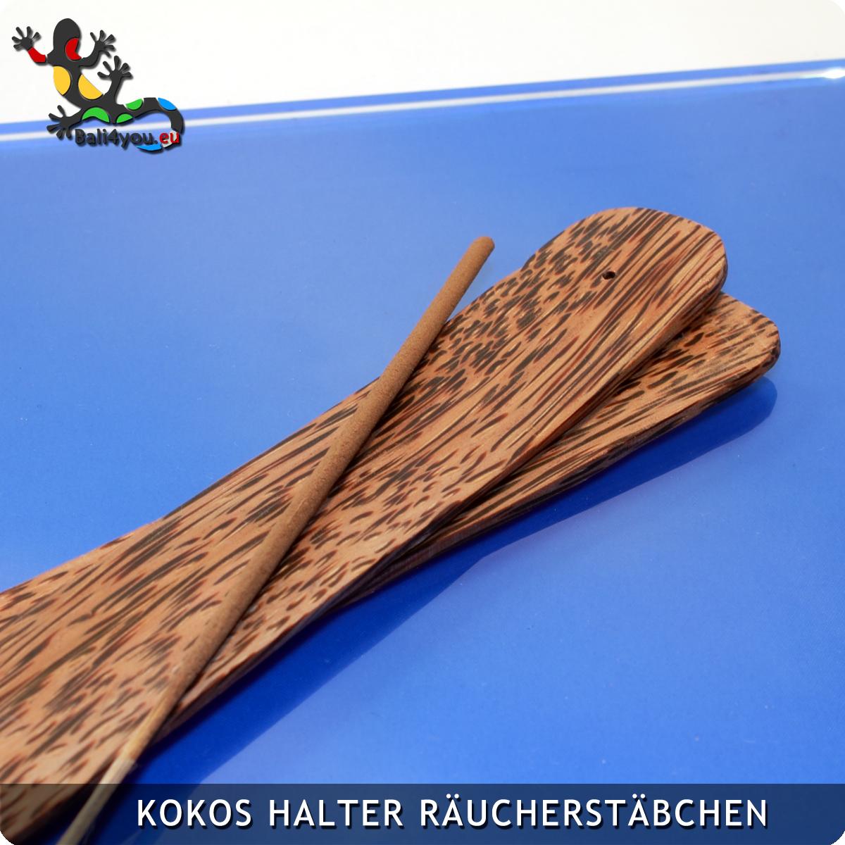 Kokosholz Halter für Räucherstäbchen