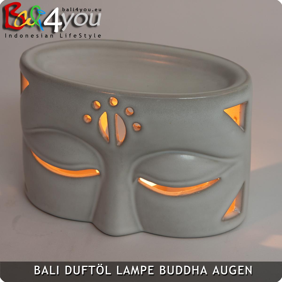 Duftöl Lampe Buddhas Augen Weiss