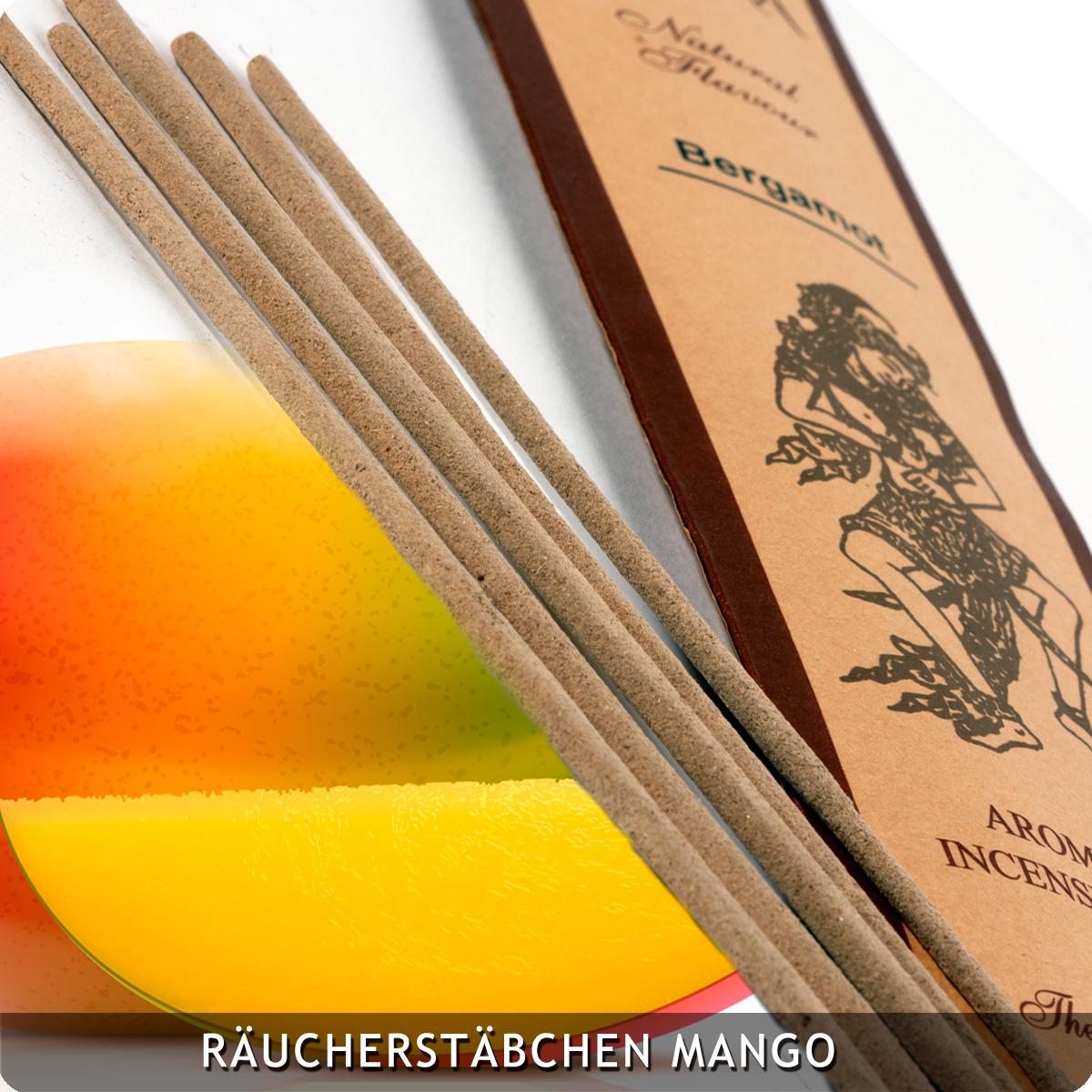 20 Räucherstäbchen Mango