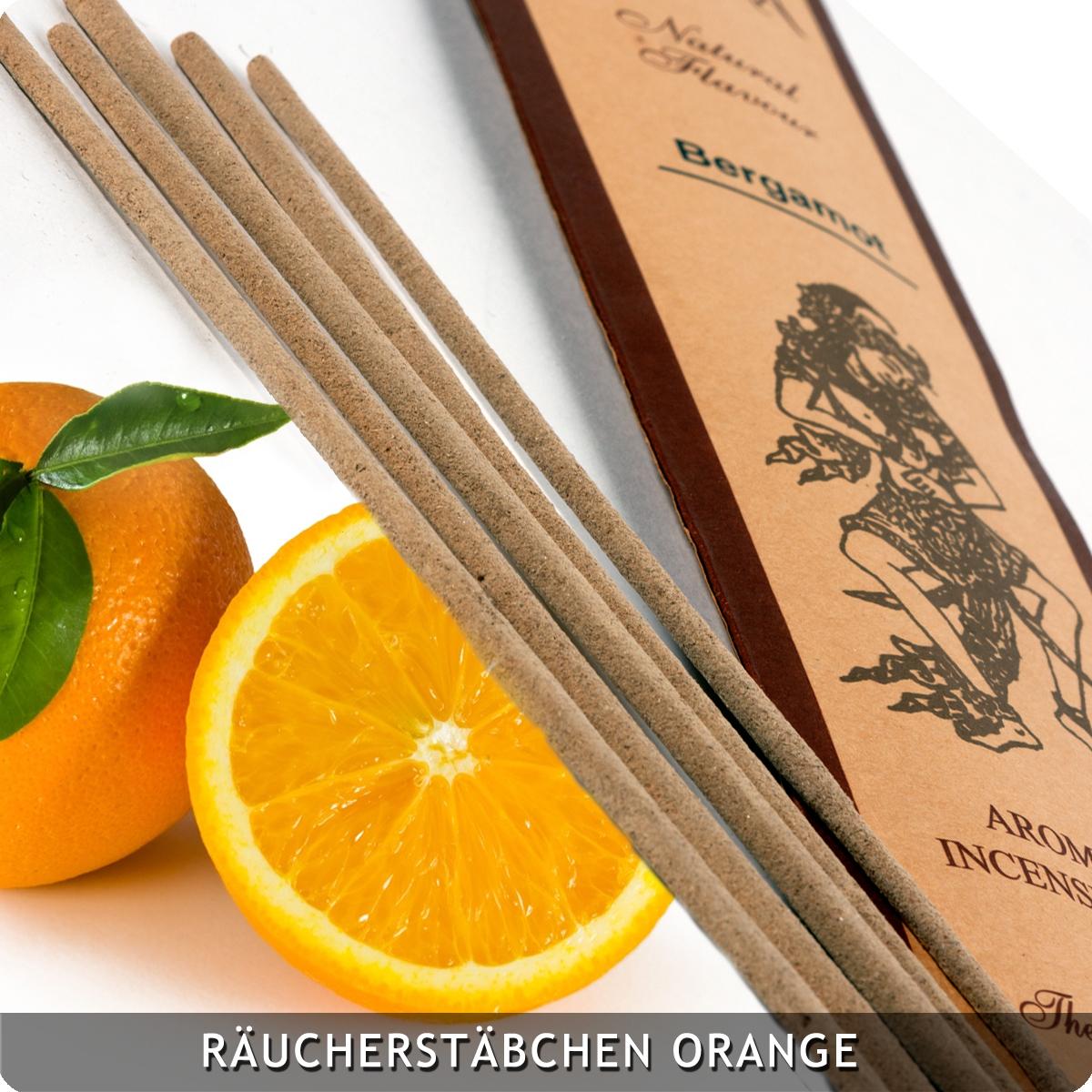 20 Räucherstäbchen Orange