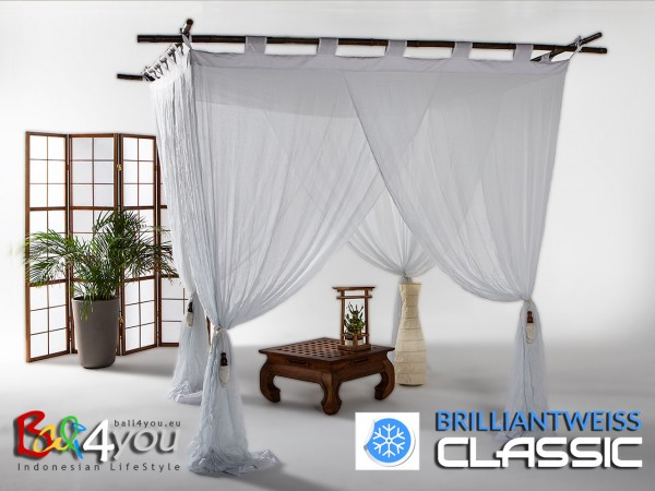 Baldachin Classic Brillantweiß SET 160 x 200